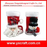 Bottes d'ornement de cadeau de Noël de la décoration de Noël (ZY14Y26-3-4)
