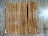 Costa contínua revestimento de bambu pesado tecido para o parque