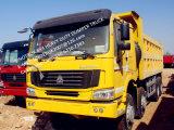 420HP大きい力の重い積載量のSinotruk 12のタイヤのダンプトラック