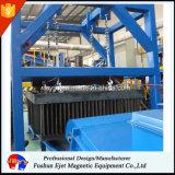Separatore elettromagnetico incluso ad alta intensità del ferro per il funzionamento esterno