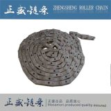 Pignon assorti à chaînes de rouleau de chaîne d'acier inoxydable