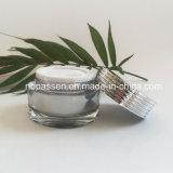 Vaso crema acrilico d'argento popolare 30g per l'imballaggio dell'estetica (PPC-NEW-136)