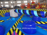 Wipeout Eliminator gonflable, essuie-glace gonflable Wipeout, jeu gonflable de la zone de fusion