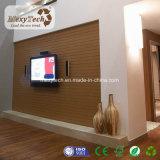 Fácil instalar y borrar el panel decorativo de la pared interior del PVC