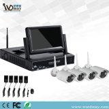 Überwachungskamera-Installationssatz-System 1.0/1.3/2.0MP Sets der IP-Kamera-NVR mit 7 Zoll LCD-Bildschirm