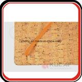 Coutume en bois de cahier d'unité centrale de texture de cadeau de corporation