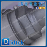 Extrémité modifiée à passage réduit soudée bout à bout de raccord de robinet à tournant sphérique de la classe 800 de Didtek