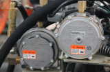 Gabelstapler des Benzin-2t mit Triplex vollem freiem Behälter-Mast