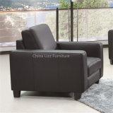 Zeitgenössisches modernes Büro-Möbel-echtes Leder-Sofa