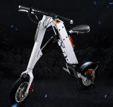 承認のElectromobileの緑の携帯用電気折る自転車