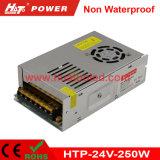 24V10A LED 전력 공급 또는 램프 또는 방수 유연한 또는 관 지구 비