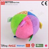 Kleurrijk Gevuld om Stuk speelgoed van de Pluche van de Rammelaar van de Baby van de Bal het Zachte