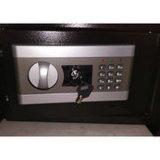 Contenitore sicuro di cassaforte dell'impronta digitale della casella del banco