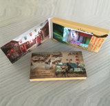 Cartão de indicador video pequeno da tela de Digitas LCD vídeo de 2.4 polegadas