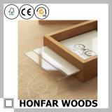 Cornice di legno bianca e nera per il regalo di natale