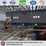 Magazzino strutturale d'acciaio progettato qualità di 9001:2008 di iso/liberato di/costruzione