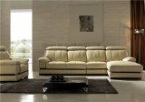 Modernes zeitgenössisches Möbel-echtes Leder-Sofa des Büro-2017