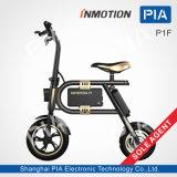 Alleinvertreter Inmotion P1f, das elektrisches Fahrrad mit Cer faltet