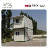 Casa casera prefabricada sucinta moderna del envase de las propiedades inmobiliarias de la construcción