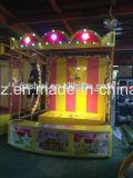 Chanceux projetant la cabine de carnaval de jeux d'Amusment de pièces de monnaie