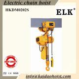 Grua Chain elétrica dos alces 2ton com trole elétrico