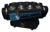 indicatore luminoso capo mobile bianco del ragno di 8*10W LED