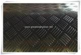 Stuoia di gomma dell'ispettore Gw3005/strato di gomma con l'Ue, ISO9001, certificati di estensione