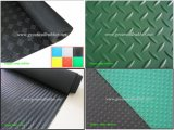 Anti-Slip 고무 장, 고무 매트, 지면 매트 (checker+diamond+round-button+wide-ribbed+fine-ribbed+Marbleized+willow-leaf+Small 장식 못) 양탄자
