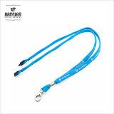 Personalizado cuerda barato cuerda de seguridad del cable redondo con el parche de PVC