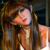 Novo 155cm a-Cup Seios Feminino Real Solid Silicone Sex Dolls Japanese Real Oral Love Doll