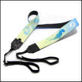 Atacado Custom Logo / Design Poliéster / Nylon Neck Lanyard Camera Strap para Chave / ID Card / Camera