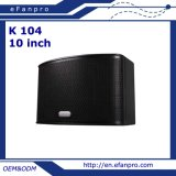 Choisir 10 pouces le haut-parleur professionnel de karaoke de 3 fréquences (K 104)