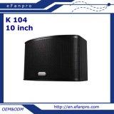 10 Zoll aussondern das 3 Frequenz-Berufskaraoke-Lautsprecher (K 104)