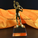 Qualitätskristallglas-Badminton-Preis-Trophäe