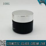 100g de zwarte Kruik 100ml van de Metselaar van het Glas van het Masker van de Cilinder Gezichts