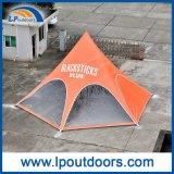 10m屋外のくもの陰のイベントのための赤いBullの星のテント