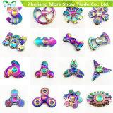 Rainbow Colors Liga metálica EDC Hand Fidget Spinner High Speed Focus Toy Gifts