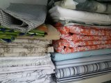 100% telas impresas algodón para las hojas del lecho