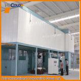 Kompakte Puder-Anstrichsysteme für Aluminiumprofile