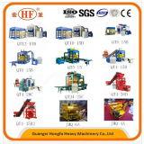 Petite machine à paver d'investissement et machine de fabrication de brique creuse (HFB580A)