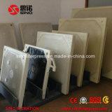 Prensa de filtro de câmara recarregável automática para tratamento de águas residuais