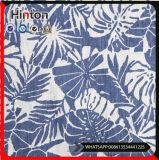 Fábrica de diseño personalizado de impresión de tela de mezclilla Jeans tela