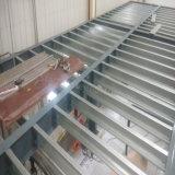 Construction en mezzanine à structure préfabriquée en acier avec cadre portatif