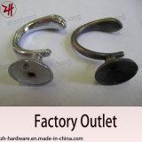 Bei ami di gatto in lega di zinco del gancio di vestiti del doppio di disegno (ZH-2042)