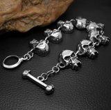 De gotische Juwelen van het Roestvrij staal van de Mensen van de Armbanden van de Schedel