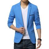 OEM 남자 블레이저 코트 형식 우연한 면 블레이저 코트 재킷