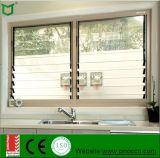 Ventana de cristal de la ventana del nuevo estilo, persianas de las persianas con el estándar de Australia y el solo vidrio templado