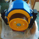 Motore Gearless della macchina della trazione del rullo dell'elevatore