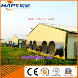 Équipement agricole de volaille avec construction de maisons préfabriquées pour un service unique