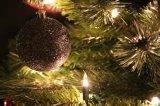 Árvore de Natal plástica artificial da agulha do pinho 2017 com decorações